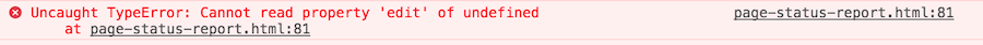 Error when editing a page in TouchUI under /etc: Cannot read property edit of undefined