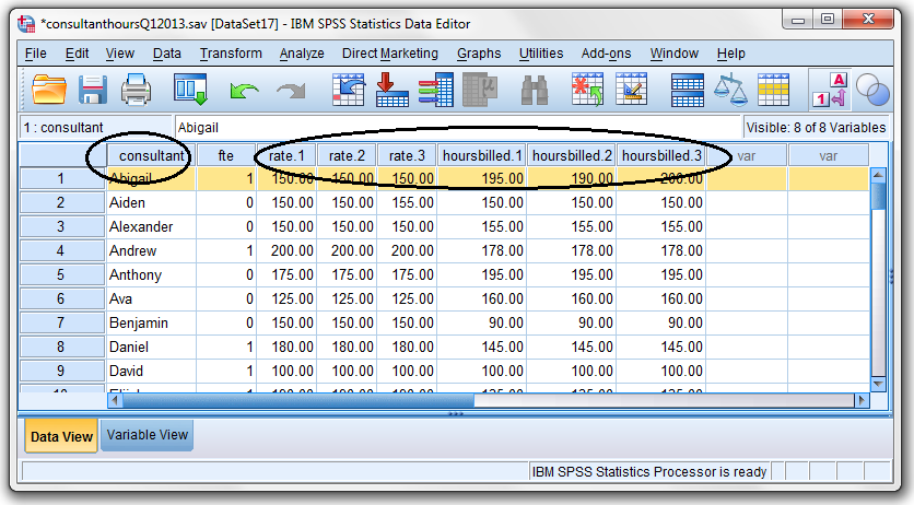 Maximum Number of Variables Exceeded Error in IBM SPSS Statistics