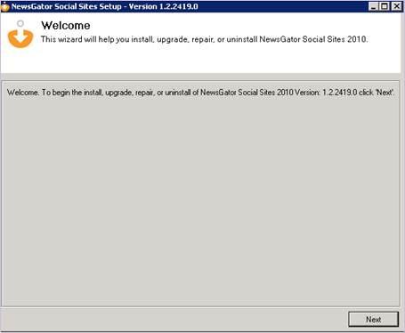 Installing NewsGator Social Sites 2010 – step by step