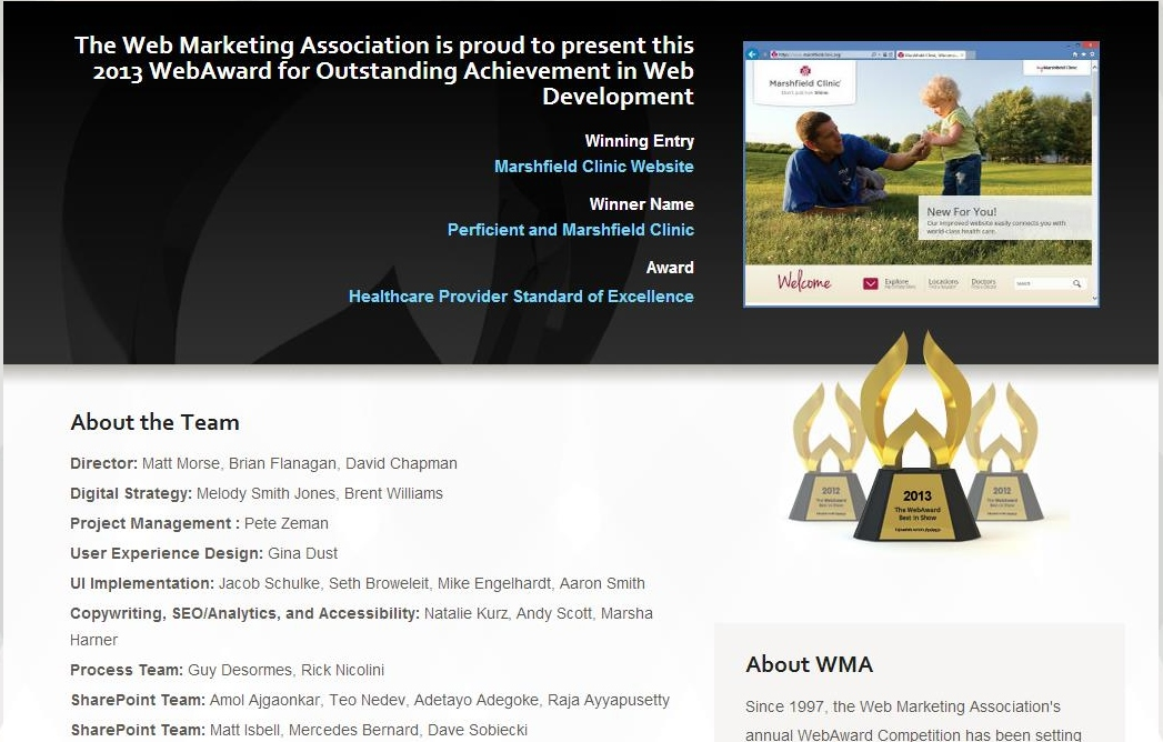 web award