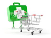 retail clinic cart