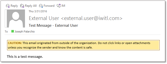 Tagged Messages: Providing Your Users Visual Cues About Email